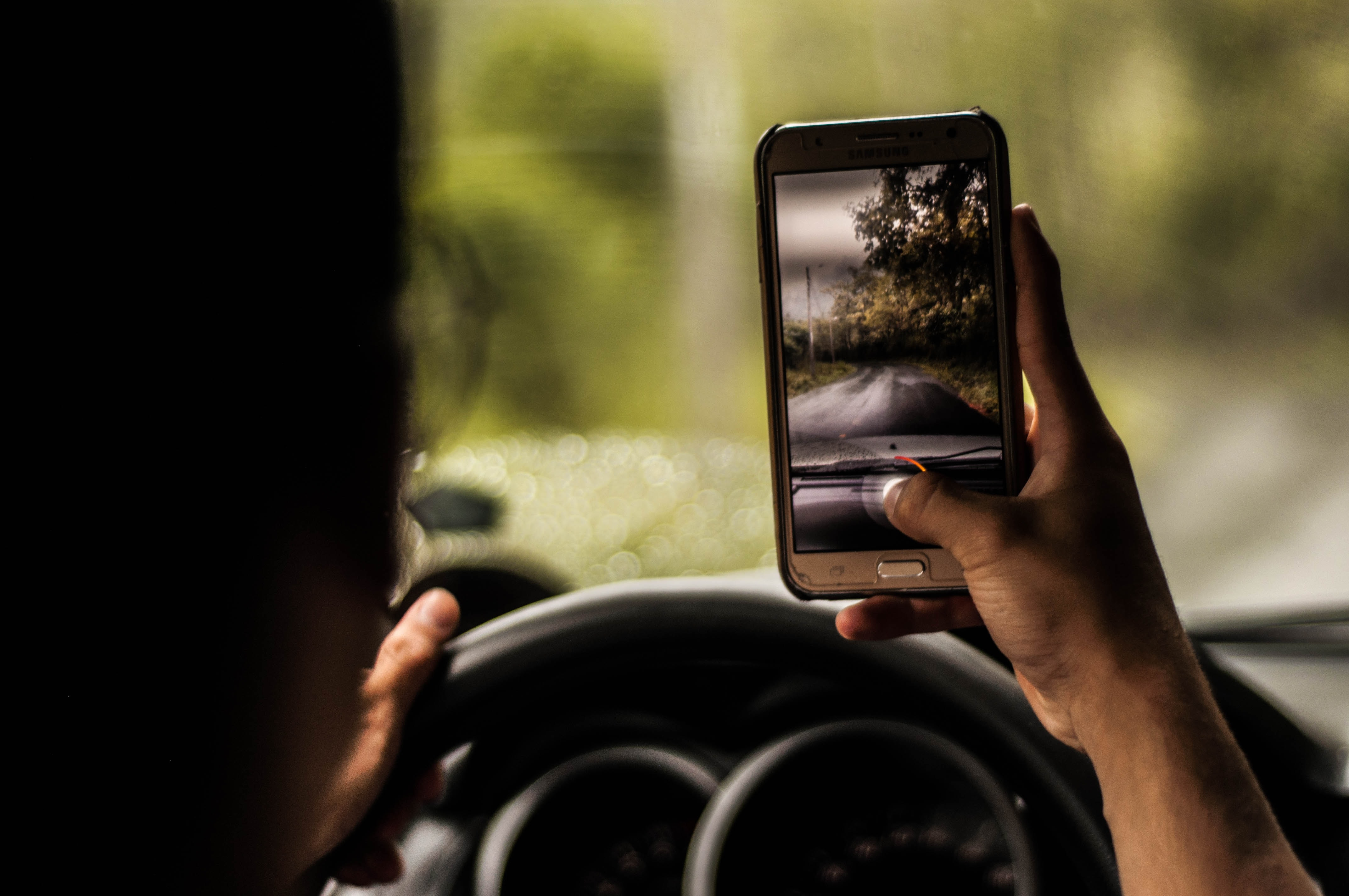 COVID-19 source of distracted driving