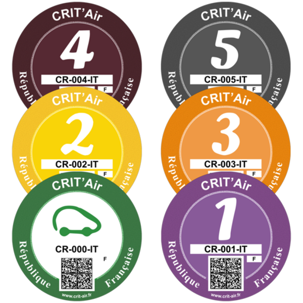 Delayed delivery of Crit'Air emissions stickers fret drivers to France.png