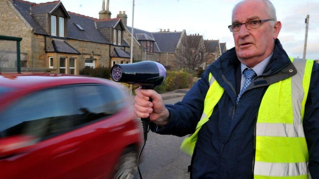 Hopeman residents take unorthodox measures to kerb speeding and aggressive driving.jpg