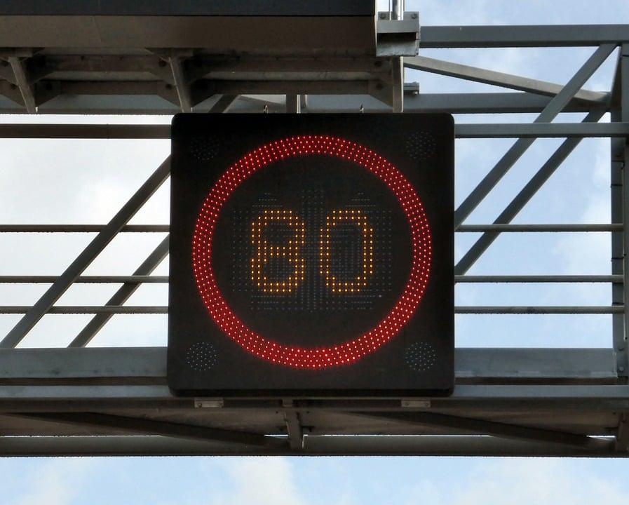 L'abaissement de la limitation de vitesse