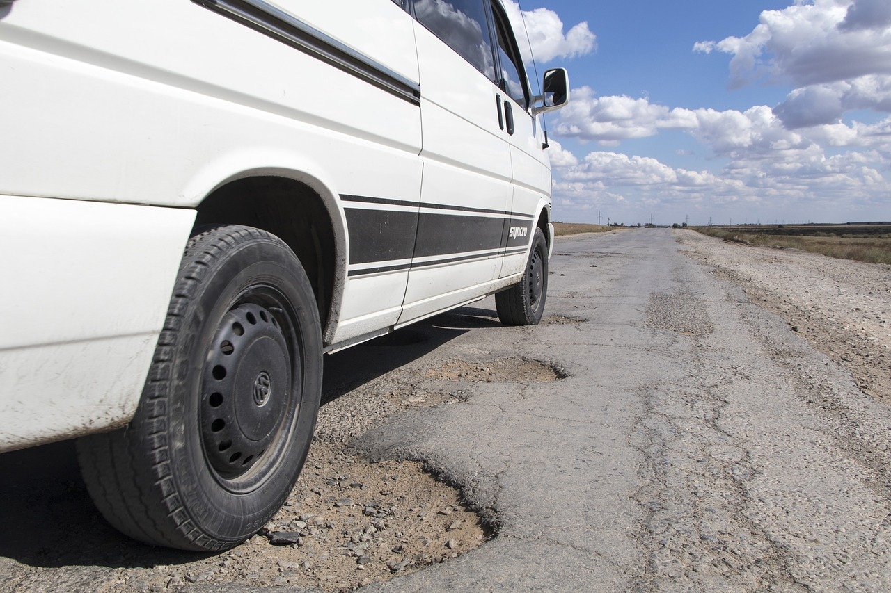 Pothole damage a frequent source of road risk and fleet downtime