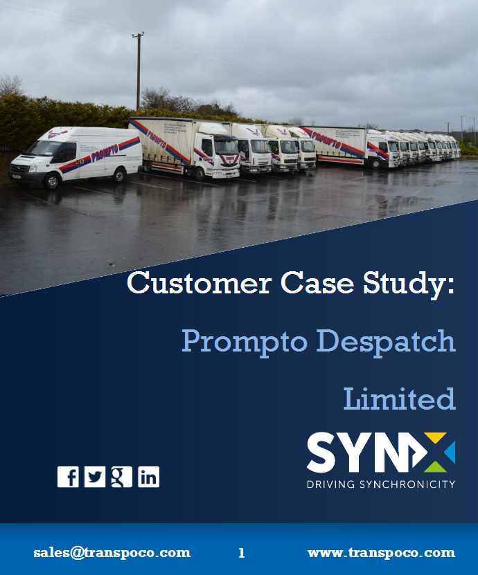 Prompto Delivery Company - Customer Case Study