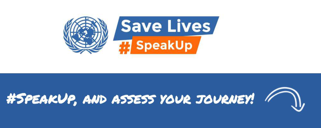 Road Safety Week 2019 speakup is the hashtag of the 5th edition