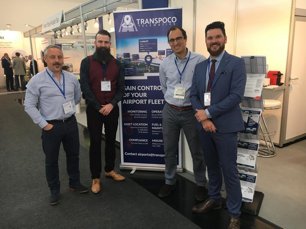 Successful trade show for Transpoco at the Inter Airport Europe 2019_