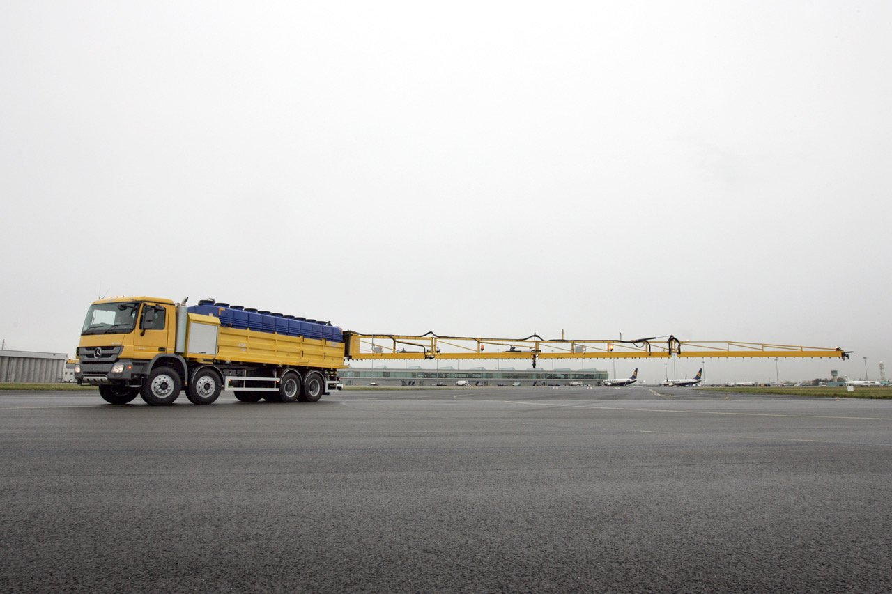 Transpoco develops bespoke airport de-icing technology