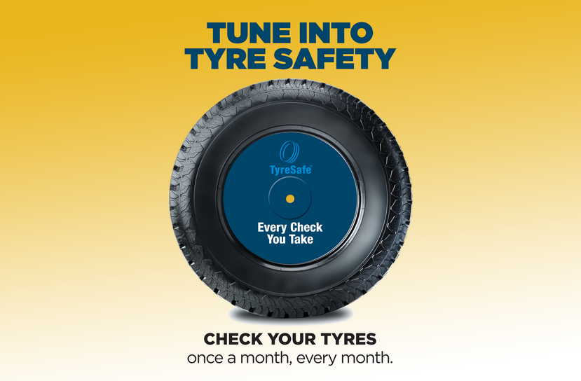 "Tyre safety month 2018 why ""Under pressure"" and ""How deep is your tread"" should be your fav hits"