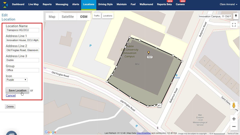 Locations Database