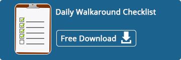 Daily Walkaround Checklist - Free Download Now