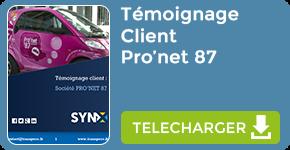 Témoignage : Client Société Pro'net 87