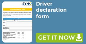Driver declaration form