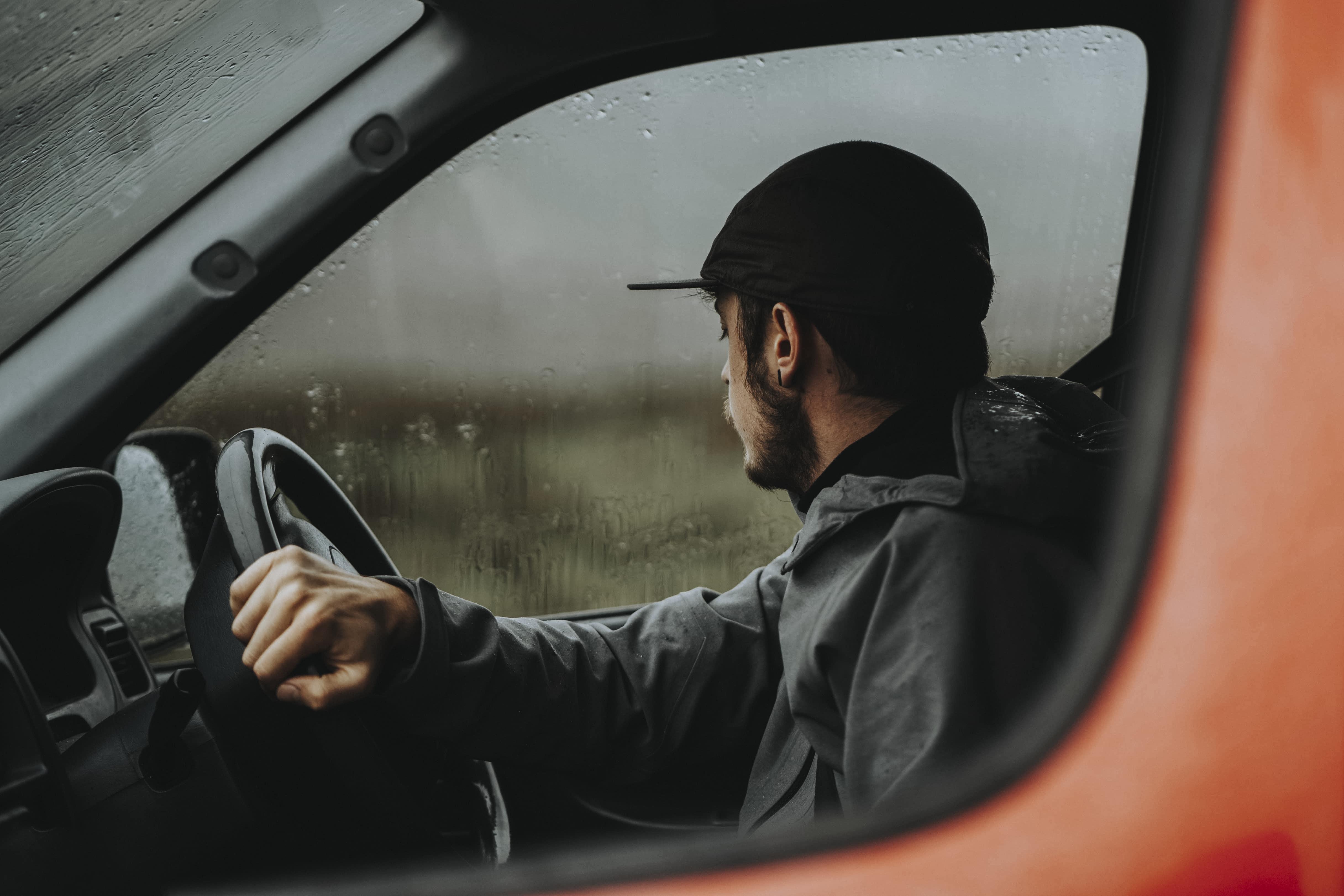 Driving while raining