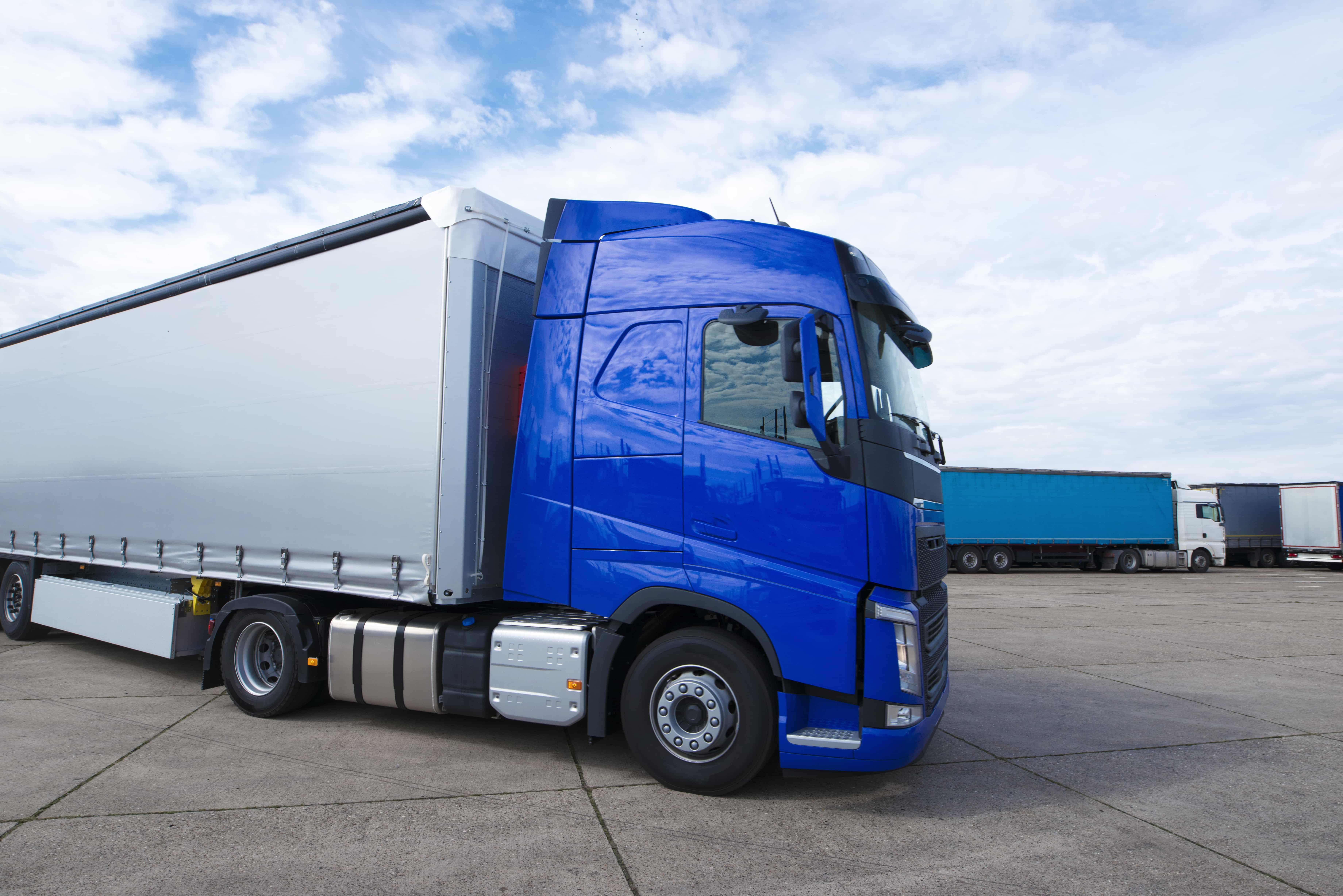 Truck long vehicle